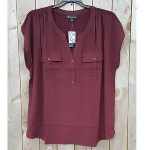 INC International Concepts Plus Size Shirt Tip